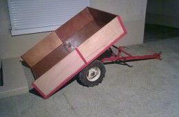 Remorque Micro tracteur
